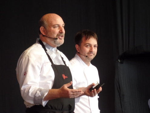 Adolfo Perret y Walter Leal