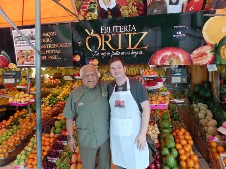 con el señor Ortiz