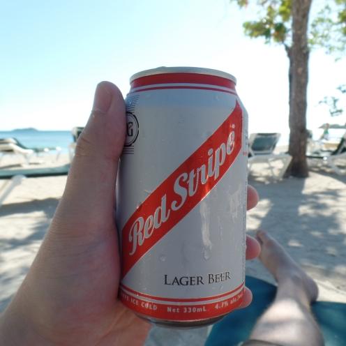 Cerveza Red Stripe Jamaiquina