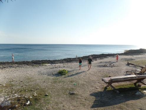 Playas solo para el grupo