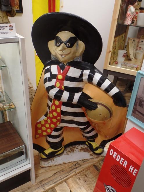 Hamburglar, el villano de McDonalds