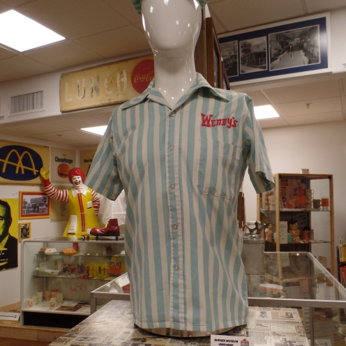 Uniforme antiguo de Wendy´s